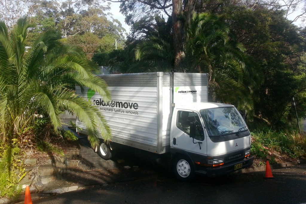 Whangarei furniture removals small truck 01